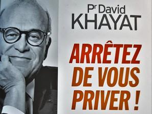 """Coup de cœur pour le livre du Pr Khayat : """"arrêtez de vous priver !"""""""