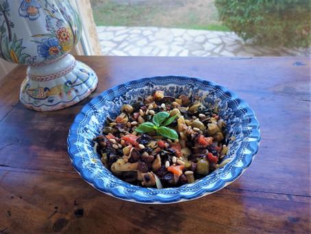 Ma recette préférée de caponata, la ratatouille italienne