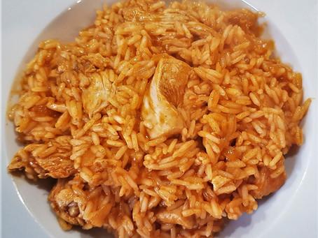 Paprikás de veau au riz