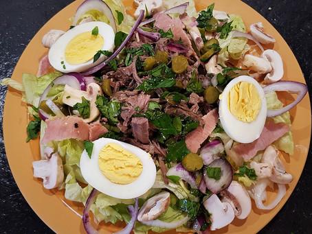 Salade Passiplé aux restes de pot-au-feu