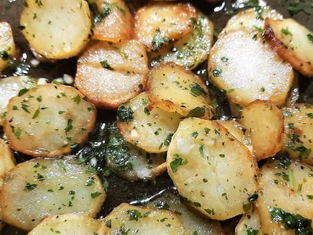 Les pommes de terre sarladaises de Janine