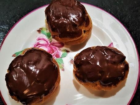 Les petits choux au chocolat incomparables de Pauline