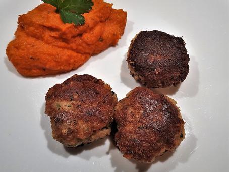 Boulettes aux restes de poulet rôti