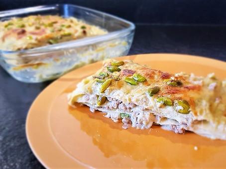 Une recette originale : lasagnes aux pistaches - lasagne al pistacchio