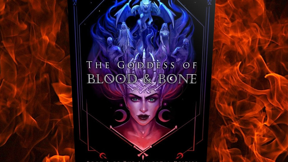 PRE-ORDER *SIGNED PAPERBACK* The Goddess of Blood and Bone