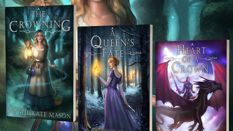 *SIGNED HARDCOVER* The Crowning Series book bundle