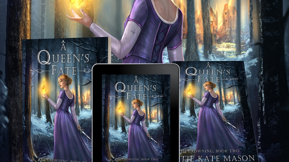 *SIGNED PAPERBACK* A Queen's Fate (Book 2)