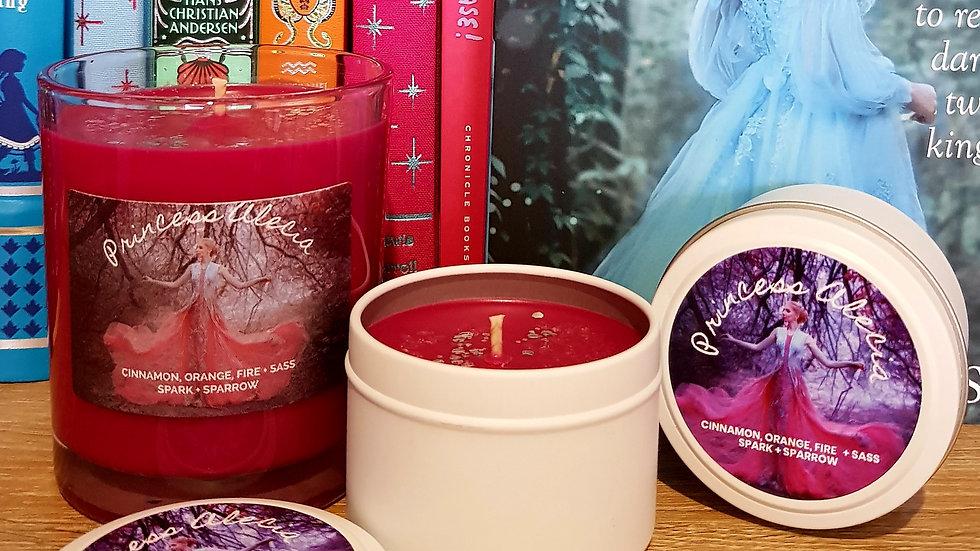 Princess Alecia 4oz scented candle