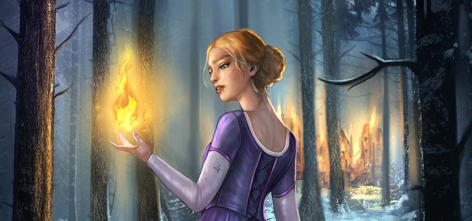 Anastasia illustration by beth gilbert w