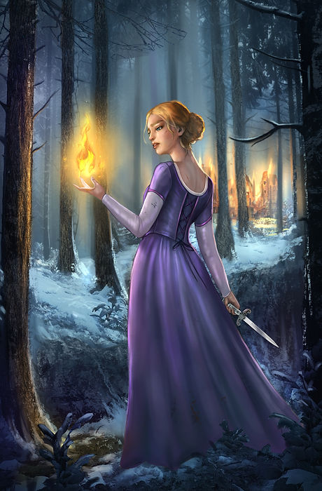 Anastasia illustration by beth gilbert w