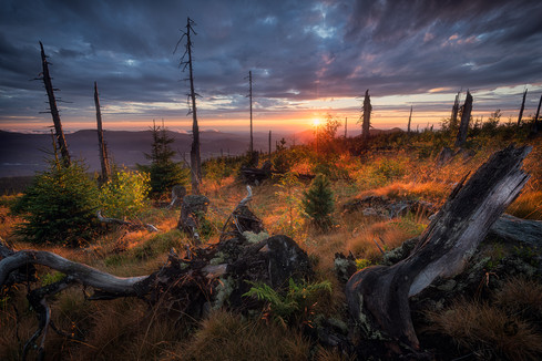 Západ slunce na Svarohu
