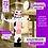 Thumbnail: Надувная корова для рекламы молочной и мясной продукции