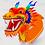 Thumbnail: Надувной дракон для китайского ресторана
