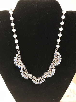 Vintage Silvertone Necklace