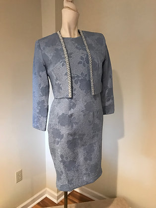 Vintage Ursula of Switzerland Special Occasion Dress Suit