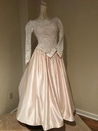 Vintage Mon Cherie Wedding Dress