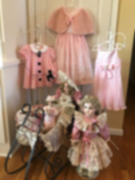 New vintage designer resale children's clothig for flower girl, pagean and scpeial occasion.