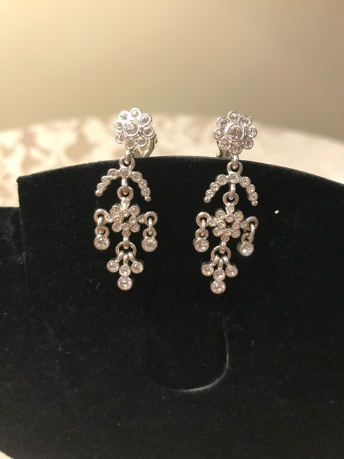 Chandelier clip earrings aloadofball Image collections