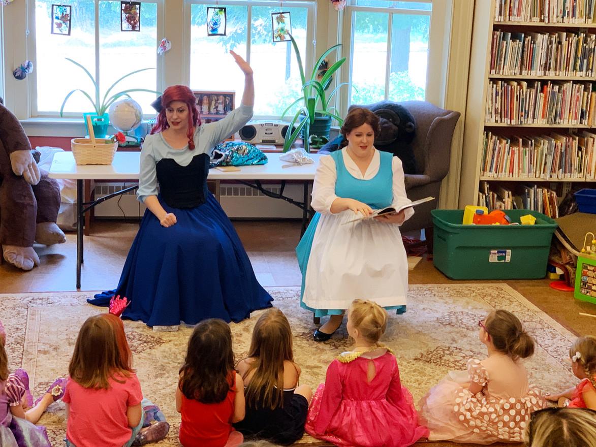 Bookworm + Mermaid storytime