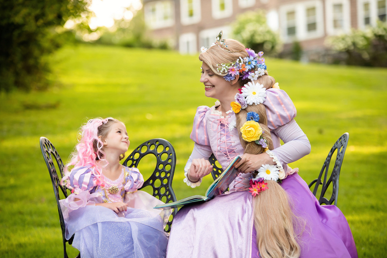 Flower Princess + mini-me