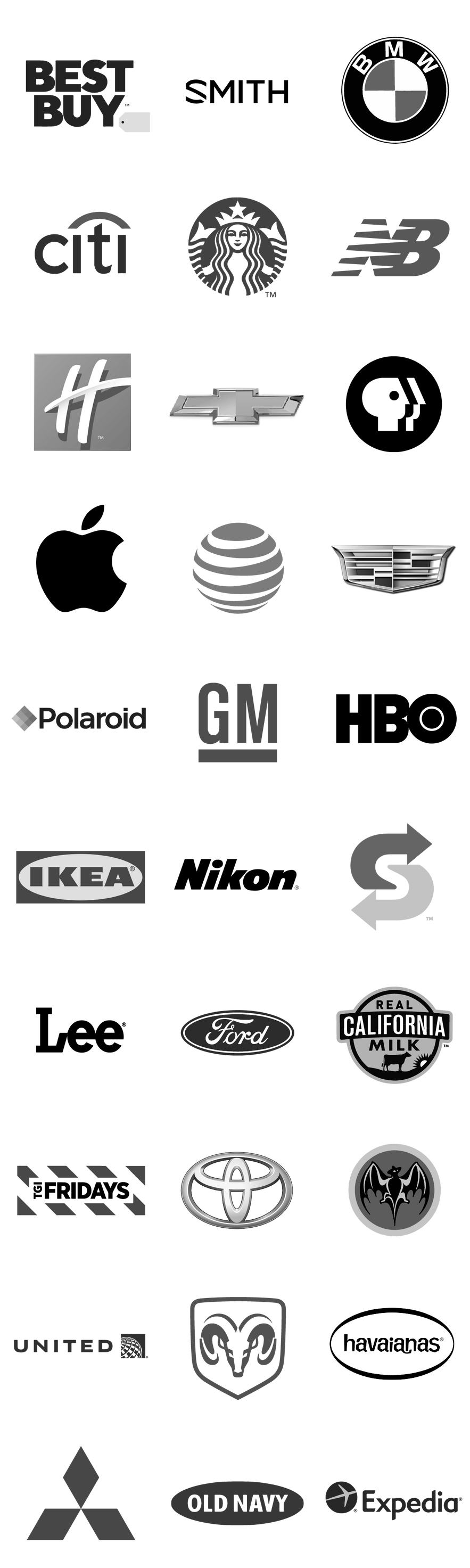 We've collectively produced thousands of commercials for great brands in every category, for every budget and executional need.