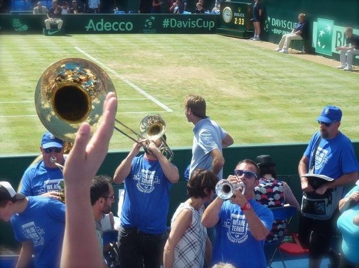fanfare watfa Bnp paribas tennis