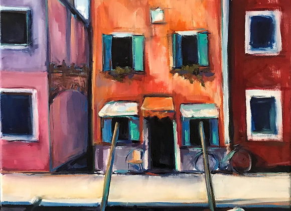 """from """"isolated but not alone series"""" """"Sunshine in Burano"""""""
