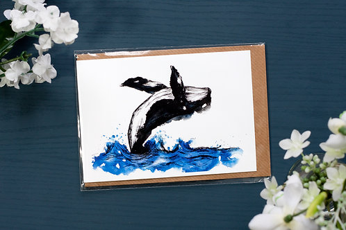 Whale | Greetings Card