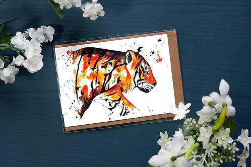 Tiger | Greetings Card