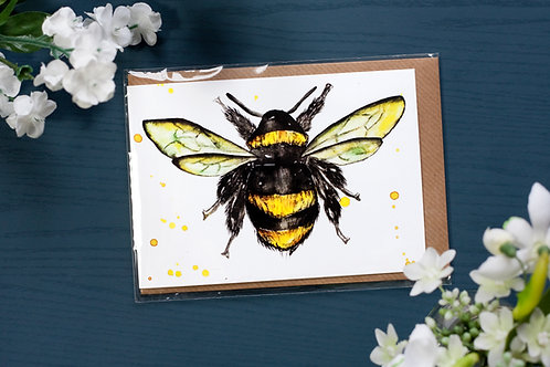 Bumblebee | Greetings Card