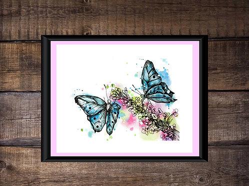 Butterfly Garden |  Giclee Print