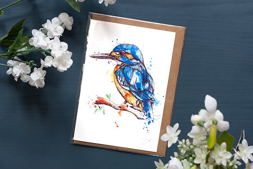 Kingfisher | Greetings Card