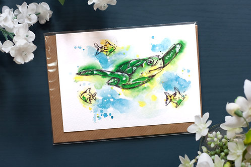 Under The Sea | Greetings Card