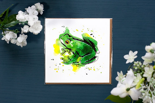 Frog | Greetings Card