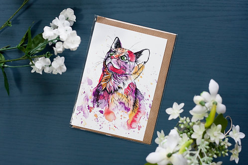 Cat | Greetings Card