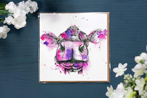 Silly Cow | Greetings Card