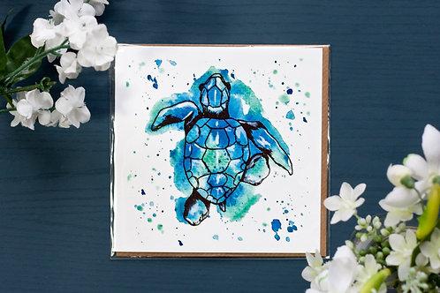 Turtle | Greetings Card