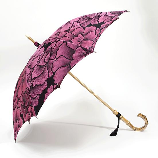 西陣織 日傘 牡丹柄