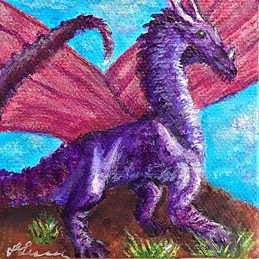 Amethyst, 4th in Dragon Suite Series
