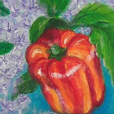 Portrait of a Striped Pepper