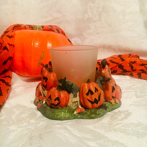Pumpkin Patch Candle Holder