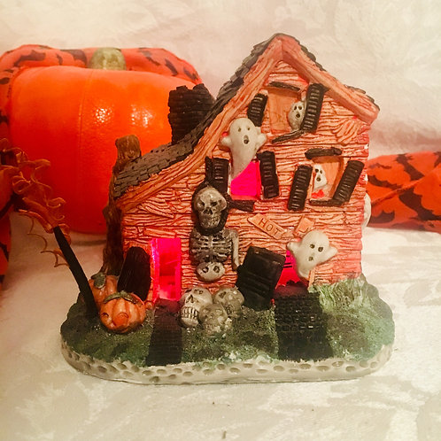 Lighted Haunted House