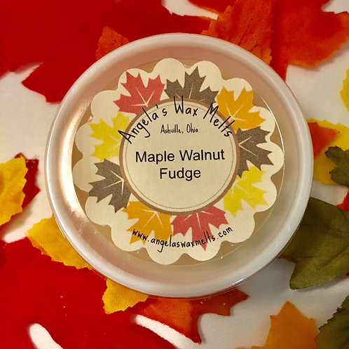WM - Maple Walnut Fudge