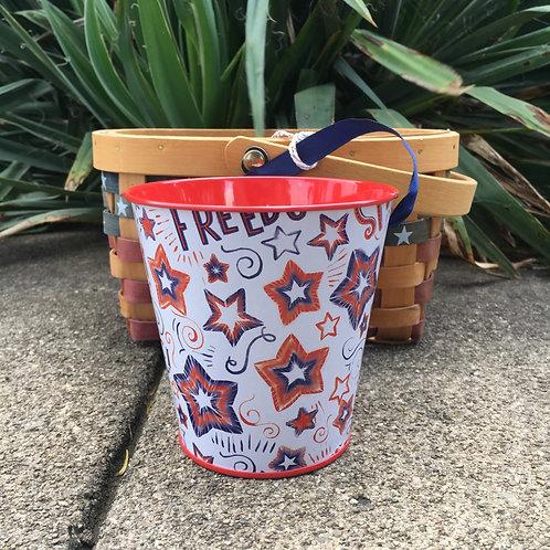 Citronella Stars Tin Bucket