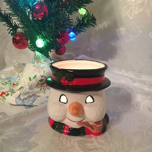 Snowman Tealight Holder