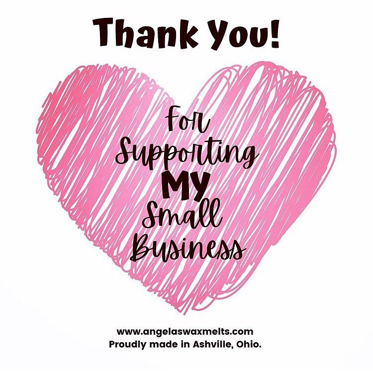 Thank you for supporting my small business!