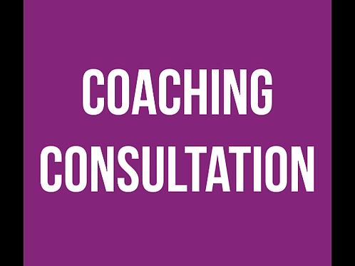 Coaching - Consultation