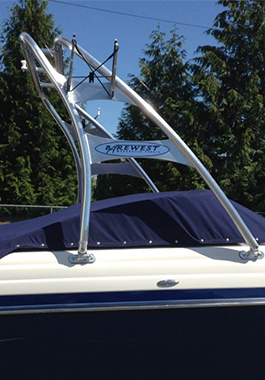 wakeboard tower, boat tower