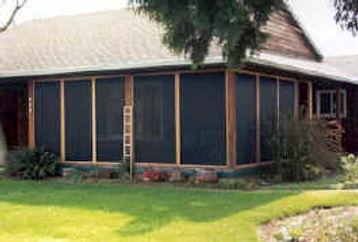 patio enclosure after