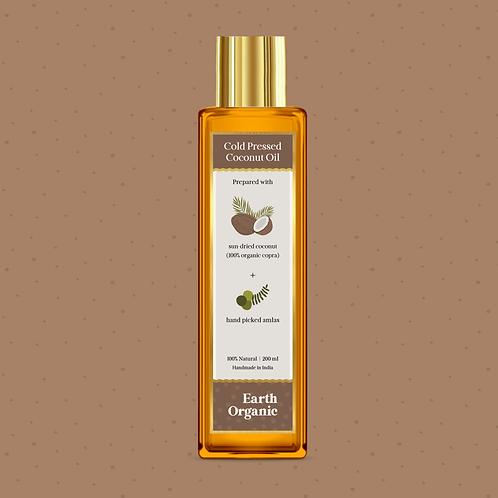 Organic Cold Pressed Coconut Amla Oil 100ML